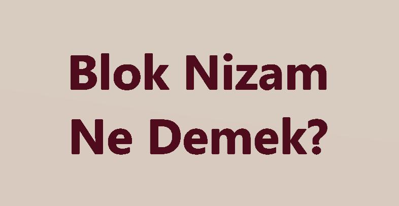 Blok Nizam