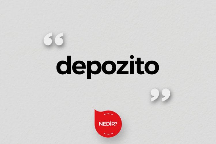 Depozito