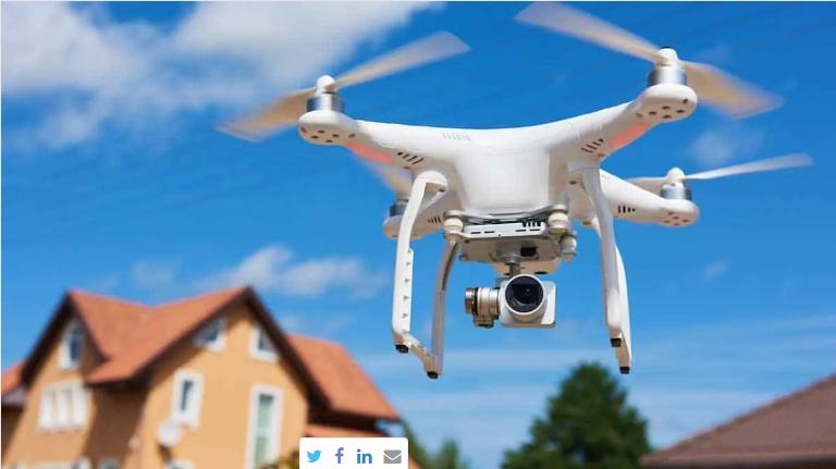 Gayrimenkul Sektöründe Teması Drone Çözecek