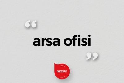 Arsa Ofisi