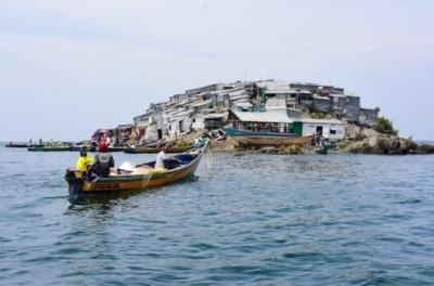 Dünyanın en kalabalık adası!
